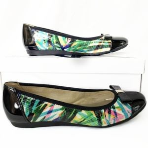 Anne Klein Sport Colorful AKATALYA Flats with Bow
